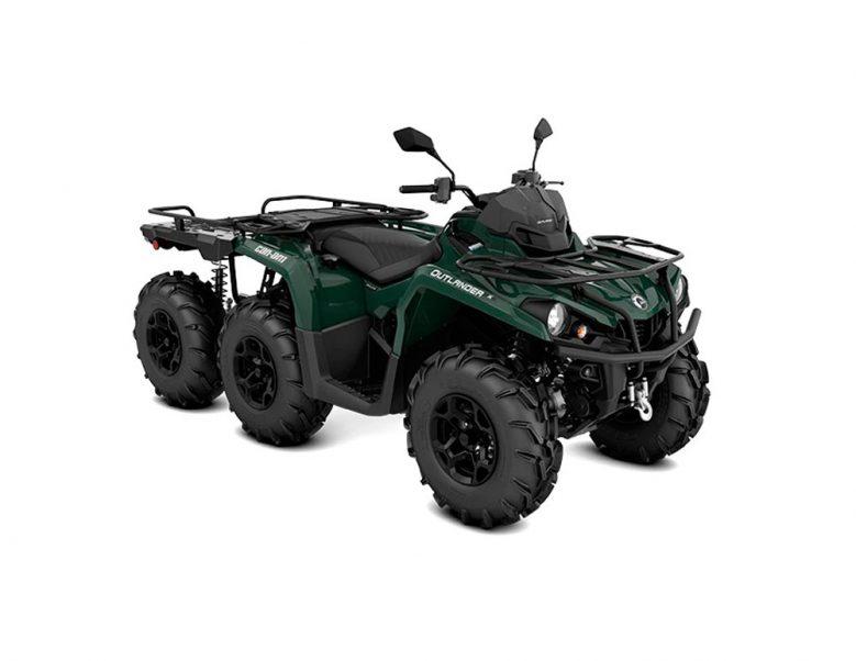 ORV-ATV-MY22-Can-Am-Outlander-6x6-XU+-450-Tundra-Green-SKU0002MNC00-34FR-T3B