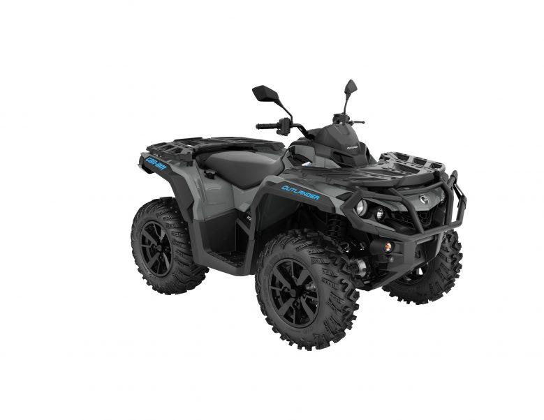 ORV-ATV-MY22-Can-Am-Outlander-DPS-1000-Granite-Gray-SKU0003GNA00-34FR-T3ABS1